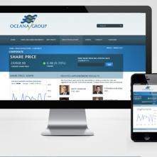 Ocean group website