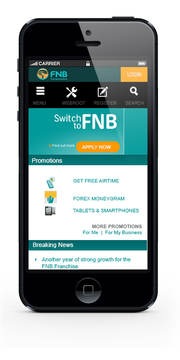 How FNB could have designed their new website | Design and